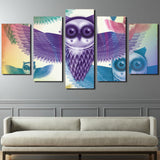 HD Printed Cartoon Animal Owl Painting Canvas Print Room Decor Print Poster Picture Canvas