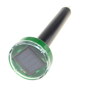 Professional Solar Power Eco-Friendly Ultrasonic Pest Repeller Gopher Mole Snake Mouse Pest Reject