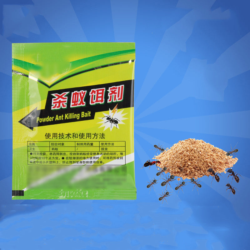 3PCS Lot Ant Baits drug Powder Killer Animal Insect net Bait reject Catcher pest control repeller fourmi mier hormiga Trap Anti