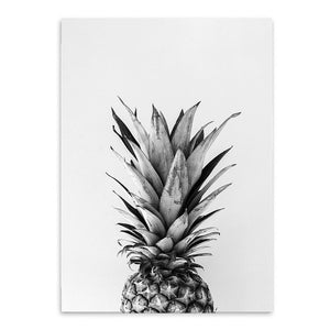Posters And Prints Wall Art Canvas Painting Wall Pictures  Nordic Decoration Pineapple