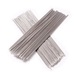 100pcs Stainless Steel Barbecue Grilling BBQ Needles Sticks Skewers
