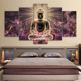 HD Printed Buddha Art Painting Room Decoration Print Poster Picture Canvas