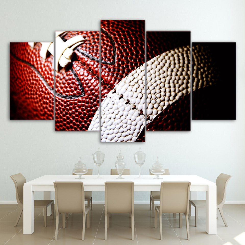 Canvas Painting Printed 5 Pieces American Football Wall Art Canvas Pictures Modular