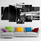 Canvas Paintings Printed 5 Pieces Musical Instrument Drums Wall Art Canvas Pictures
