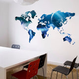 Big Global Planet World Map wall sticker Art Decal Map Oil  Home Room office Decoration