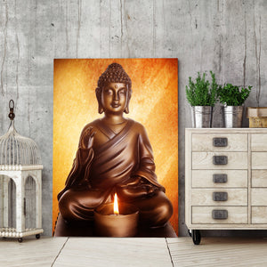 HD Printed 1 Piece Buddha Sitting Painting Living Room Decoration Paintings