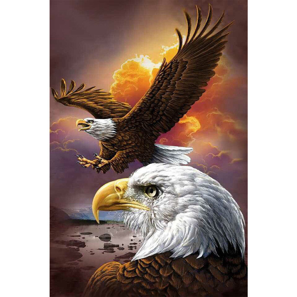 Animals Eagle DIY 5D Diamond Mosaic Full Diamond Painting Embroidery Cross Stitch Kits Creative Man
