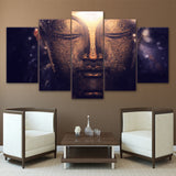 HD Printed Budda Head Portrait Painting Decoration Print Poster Picture Canvas