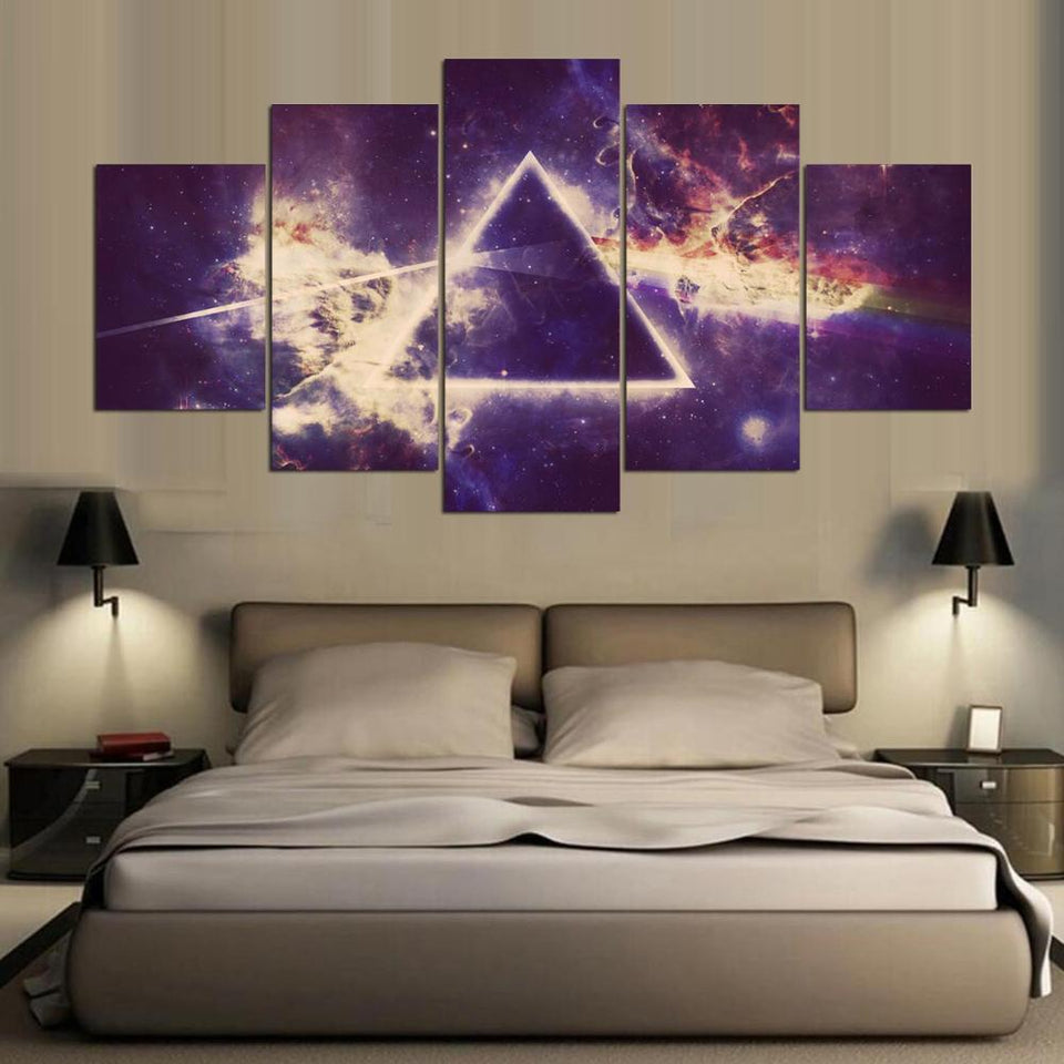 Painting Abstract Art Wall Modular Picture For Living Room Home Decoration Canvas Prints 5 Panel Special Music