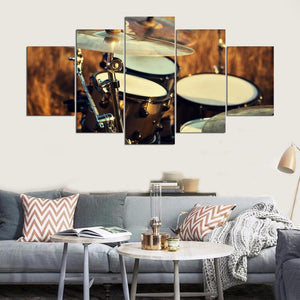 Canvas Wall Art Posters Prints Canvas Painting 5 Panel Music Landscape Wall Pictures