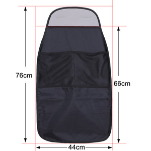 Polyester Waterproof Car Seat Back Scuff Dirt Protector Cover for Children Baby Kick Mat