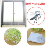 Large Window Mosquito Net White Anti Mosquito Bug Insect Net Window Curtain