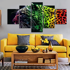 Canvas Art African Lion Canvas Painting Decoration Home Print Poster Picture Canvas