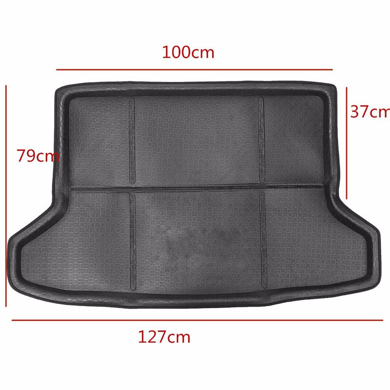 Boot Mat Rear Trunk Liner Cargo Floor Tray Protector Carpet Floor Mats