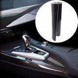 Ultra Shiny Glossy Black Carbon Fiber Vinyl Graphics Decals