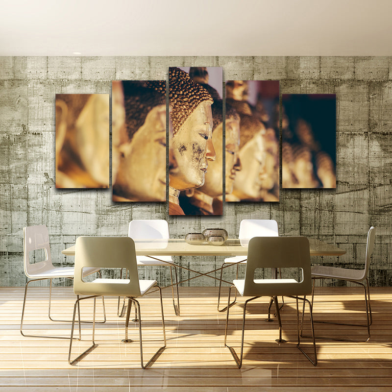 Spray Oil Painting Decoration Picture Artistic Printed Drawing Canvas Buddha