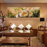 3 Piece Tulip Wall Art Canvas Painting Wall Pictures Flowers Home Decoration Picture Oil