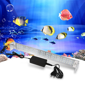 2 Types Underwater Aquarium Fish Tank LED Light  Lamp Power 33w LED Pet Supplies