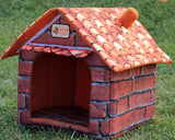Pet Supplies Can Unpick And Wash Teddy House Nest Dog House Pet Dog Kennel Cat House