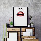 Canvas Painting Woman Face Posters Prints Graphic Nordic Wall Art Pictures Home Decor
