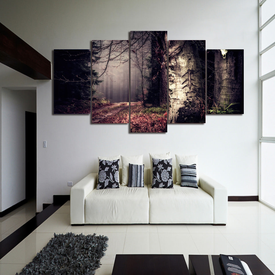 HD Printed Secret Woods Painting on Canvas Print Poster Picture Canvas