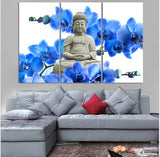 3 Panels Canvas Arts Large Buddha Painting Paintings on Canvas Wall Art