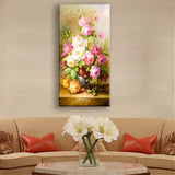 Print Canvas Art Oil Painting Home Decoration Modular Flower Canvas Painting