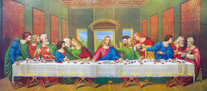 HD Printed Canvas Art Poster Picture Painting The Last Supper Oil Painting Wall Decor