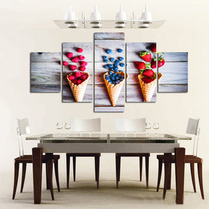 5 Piece Canvas Art Wall Pictures Decorative Wall Art Modular Canvas Painting