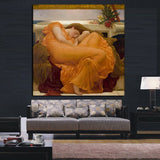 HD Prints Realistic Nude Oil Painting Sleeping Women Canvas Poster Wall Art Picture Wall Painting