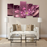 HD Printed Flowers Picture Painting Wall Art Print Poster Picture Canvas