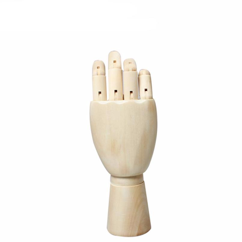 10 Inches Tall Wooden Hand Drawing Sketch Mannequin Model Wooden Mannequin Hand Movable Limbs Human Artist Model