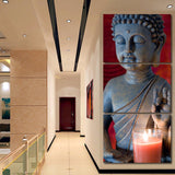 3 Pieces Modular Buddha Canvas Print Painting Wall Art Pictures Home Decoration