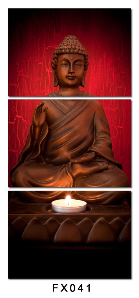 3 Piece Canvas Art Printed Buddha Painting Picture Buddha Paintings Wall Canvas Pictures