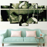 HD Printed 5 Piece Canvas Art Fitness Boxing Gloves Painting Prints Decoration Framed Picture