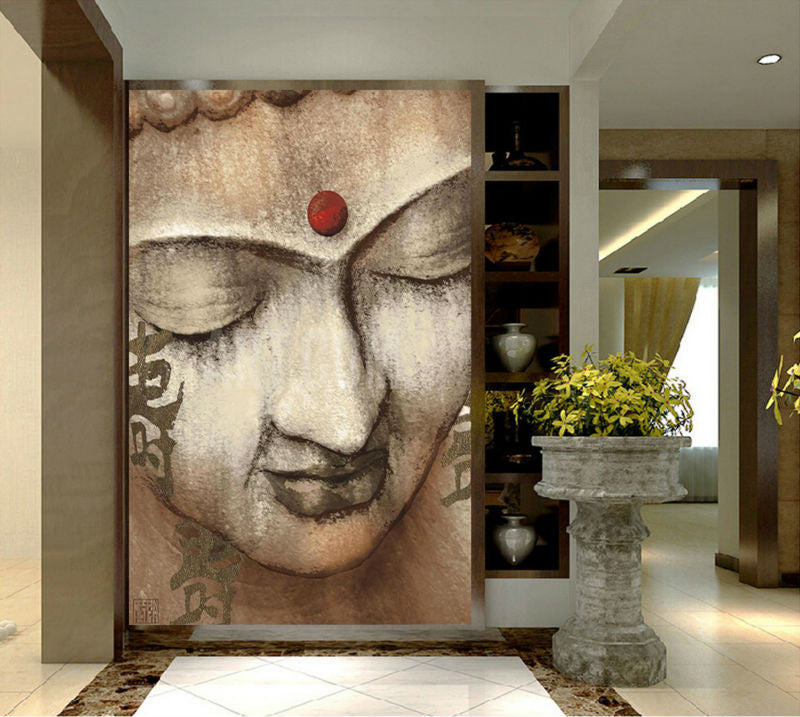 HD Print Religion Buddha Canvas Oil Painting On Canvas Art Print Home Decor Wall Art Picture