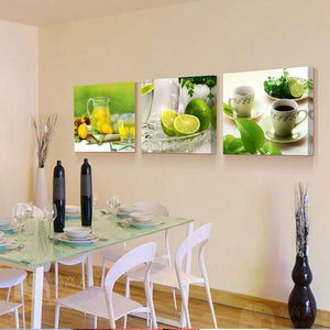 Prints Canvas Painting Dining Room Decorative Picture Canvas Paintings Flower Kitchen Wall Decor
