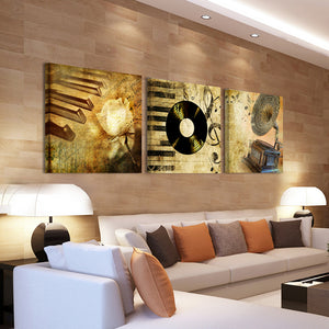 Vintage Home Decor Wall Picture Print Oil Painting Canvas Pictures  Canvas Painting Wall Dector