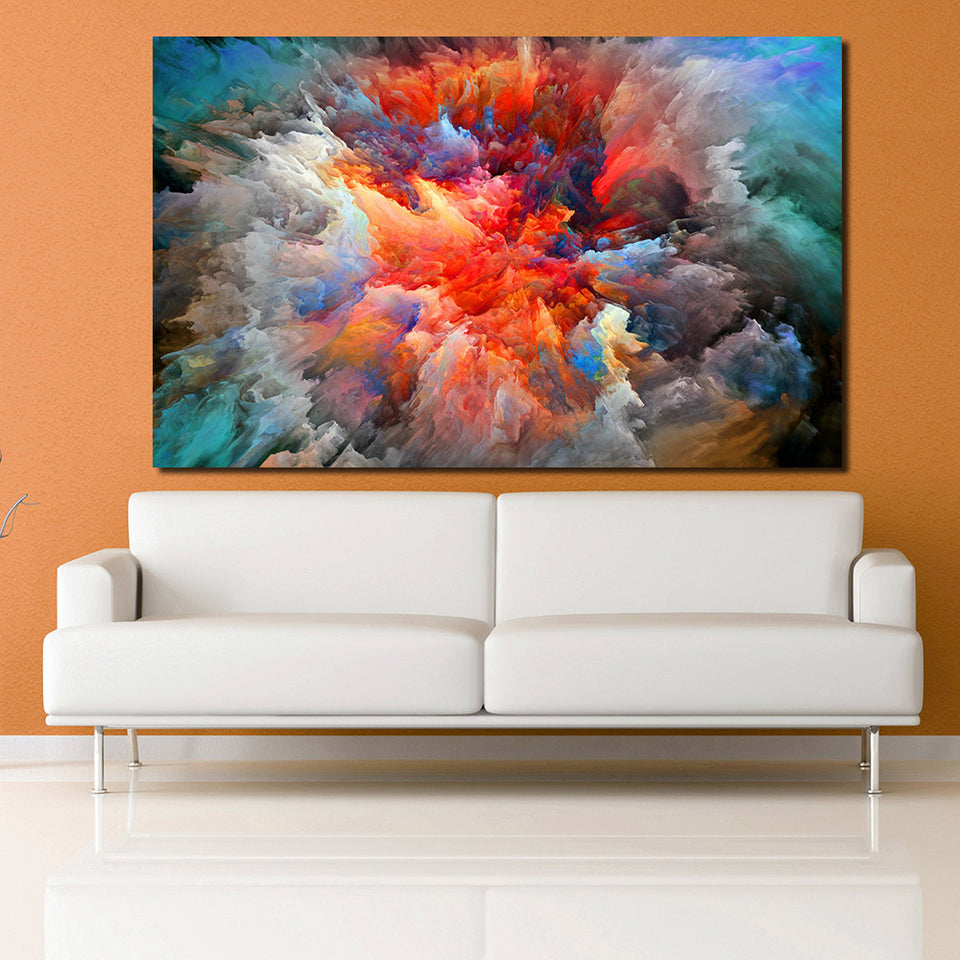 Abstract Cloud Canvas Art Oil Painting Decor Picture Wall Pictures