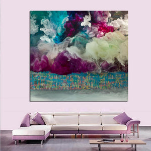 Abstract Clouds Oil Painting Canvas Art Paintings Wall No Frame Decorative Pictures