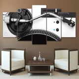 HD Printed 5 Piece Canvas Art Music Player Painting Modular Poster Wall Pictures