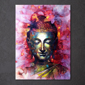 HD Printed 1 Piece Canvas Art Buddha Painting on Canvas Room Decoration Print Poster