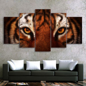 My Home is Destroyed by KhaliaArt HD Print 5 Piece Canvas Art Fox Wall Pictures