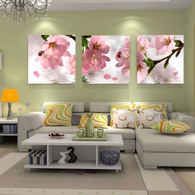 Flowers Canvas Painting Wall Art Canvas Prints Modern Wall Paintings Pictures