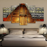 5 Piece Canvas Art HD Print Home Decor Islam Church Door Paintings Living Room Wall Poster Picture