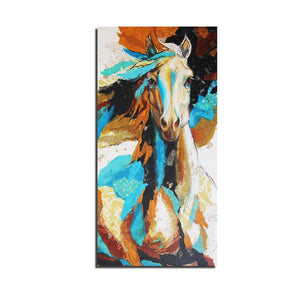 1 Panel Horses Horse Animal Steed Canvas Painting Print Painting On Canvas Wall Art
