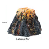 Volcano Shape Aquarium Decor Oxygen Bubble Stone Air Pump Drive Fish Tank Toy Ornament