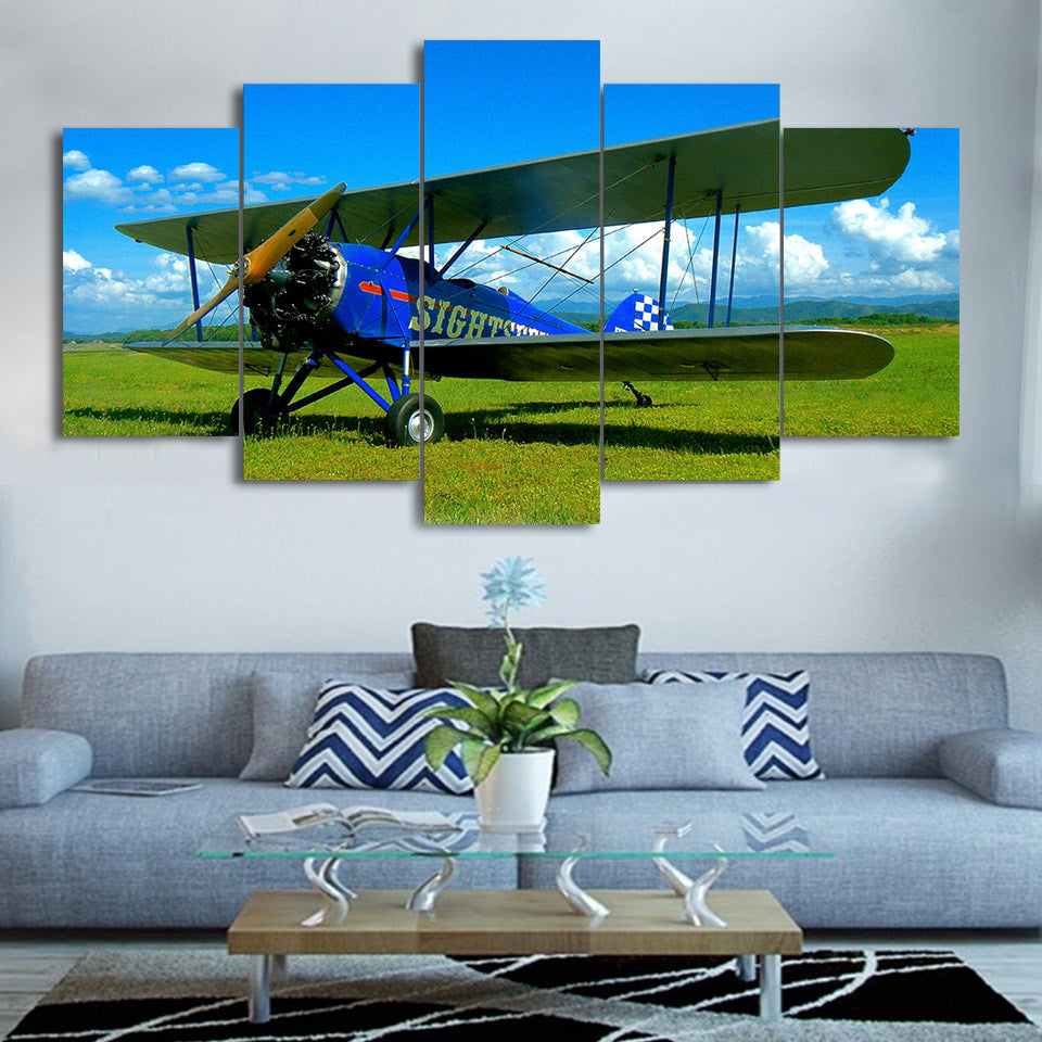 5 Pieces Wall Art Picture Plane Gift Home Decoration Canvas Print Painting Beautiful Living Room Printed