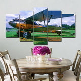 Modular Pictures 5 Panels Poster Wall Art Modular Plane Paintings Kitchen Wall Pictures Canvas Painting