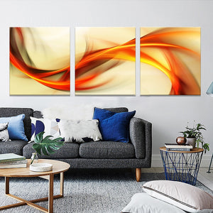 3 Piece Canvas Oil Painting Abstract Paintings Modular Picture HD Print Wall Pictures For Living Room
